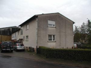 Wohnhaus vor der Aufstockung