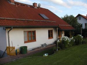 Wohnhaus massiv mit schlechten Dämmwerten der Außenwände