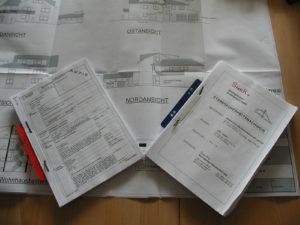 Bauantragsunterlagen