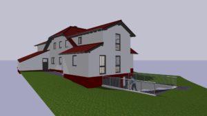 Wohnhaus nach Um- und Anbau