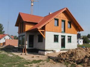 Einfamilienhaus in Holzrahmenbauweise