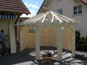 Pavillon in Holz