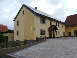 Haus nach der Sanierung