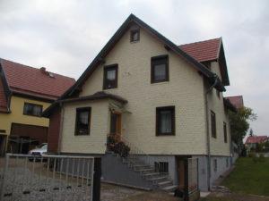Wohnhaus vor der Energetischen Sanierung der Fassade
