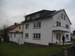 Wohnhaus vor der Sanierung