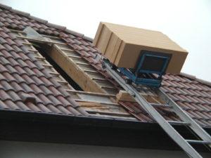 Eventuelle Öffnung der Dachfläche