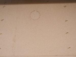 Alternative für Putzfassaden: Schließen der Einblasöffnungen mit den Bohrkernen der Putzträgerplatte